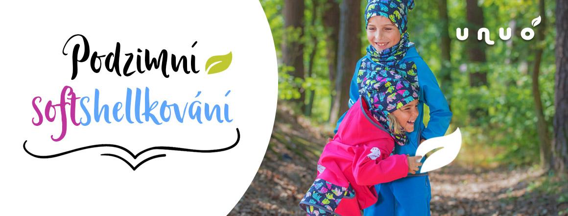 dětské oblečení přímo od výrobce - softshellové bundy, kalhoty, čepice, ponožky